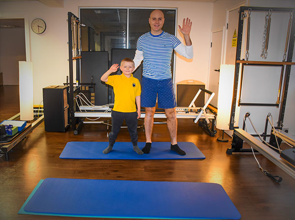 Leo and Ben Pilates for Kids